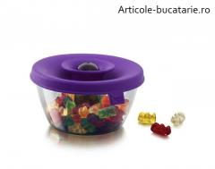 Cutie depozitare bomboane/nuci violet