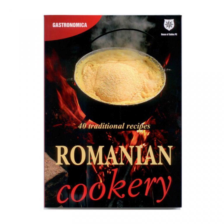 Romanian Cookery - carte de retete traditionale romanesti