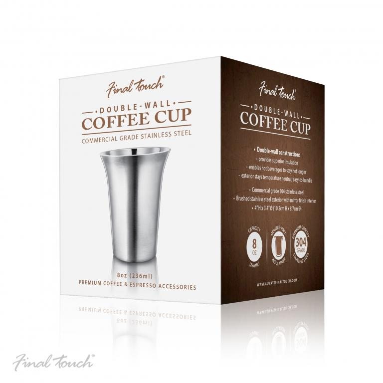 Cana cafea inox 236 ml CAT 8020