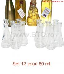 Set 12 toiuri 50 ml