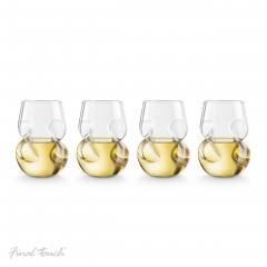Set 4 pahare Conundrum vin alb