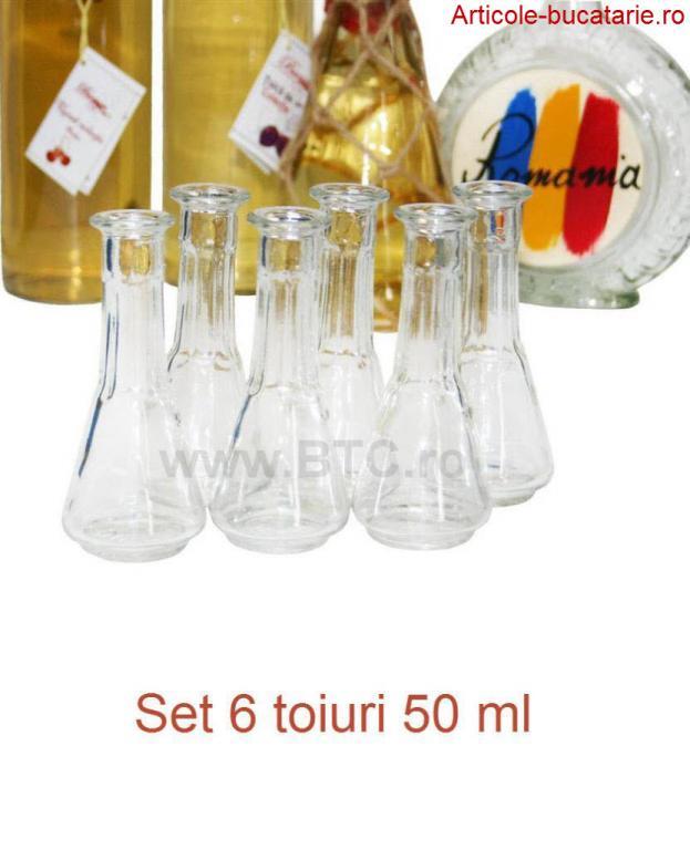 Set 6 toiuri 50 ml